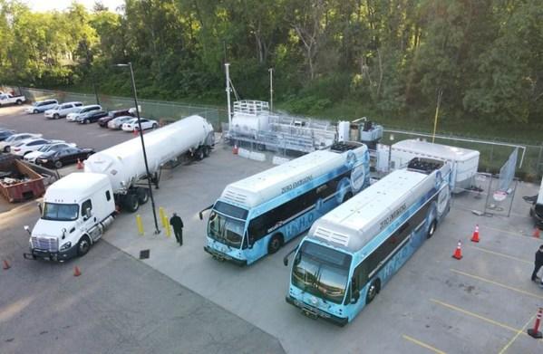 国家能源集团低碳院成功刷新大巴车连续加氢多项世界纪录