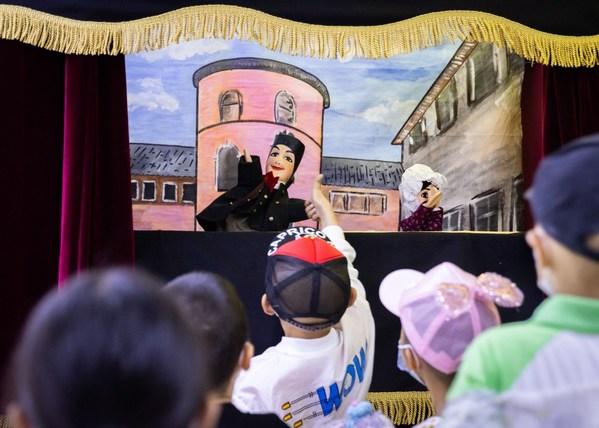 法国木偶戏惊艳亮相,让艺术绽放患儿生命光彩