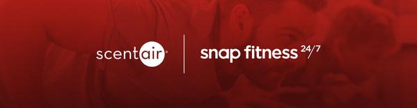 SCENTAIR(R) thông báo mối quan hệ hợp tác toàn cầu với Snap Fitness