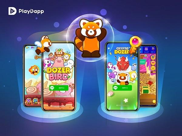 PlayDapp, DozerBird for LINE Blockchain 日本Google Playでリリース。