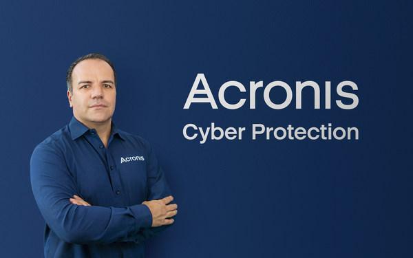 Acronis new CEO, Patrick Pulvermueller