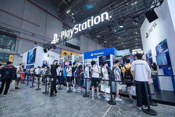 PlayStation展馆现场