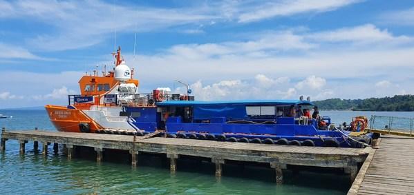 BRI部署Teras BRI船只,在马鲁古群岛提供疫苗接种