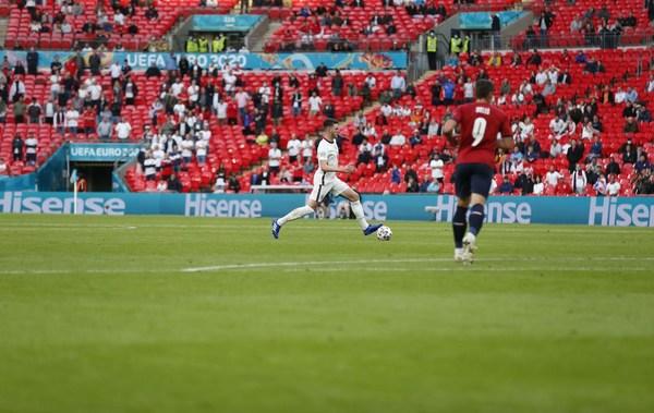 Penampilan Hisense di EURO 2020