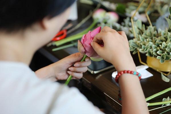 中式花艺课程体验