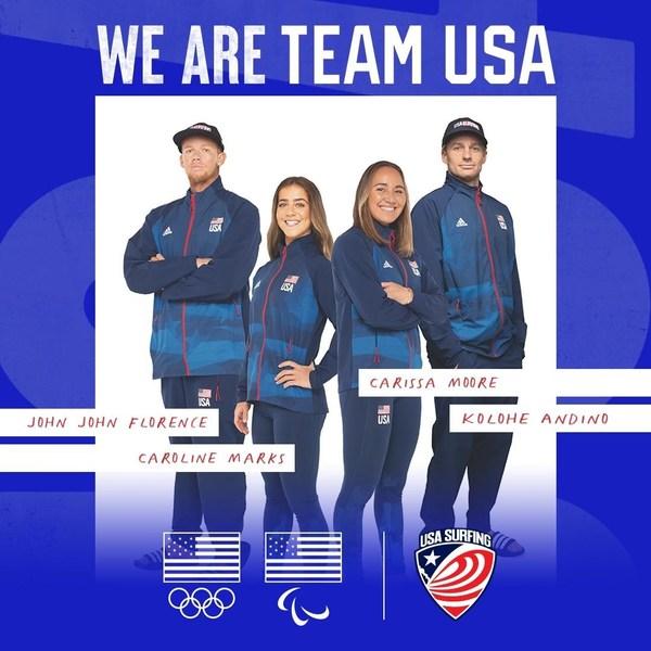 ทัพนักกีฬาโอลิมปิกทีมชาติสหรัฐและญี่ปุ่นฝึกซ้อมในสระโต้คลื่น PerfectSwell®
