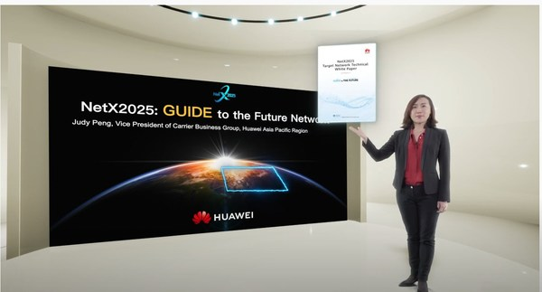 Huawei releases NetX2025 Target Network Technical White Paper in APAC