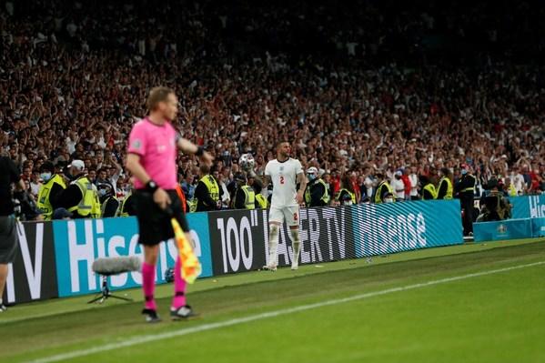 Perlawanan Akhir EURO 2020, Sorotan ITA lwn ENG