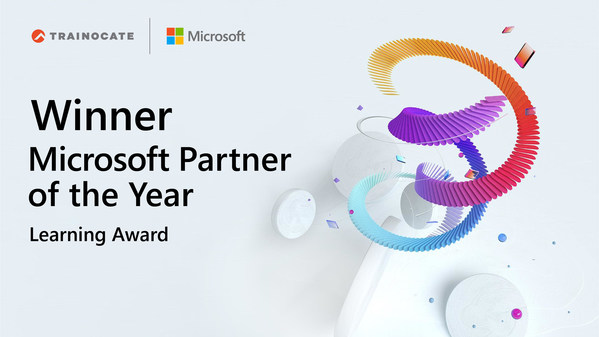 Trainocate Holdings recognized as the winner of 2021 Microsoft Learning Partner of the Year
