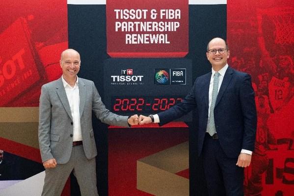 天梭表与国际篮联延长合作伙伴关系至2027年