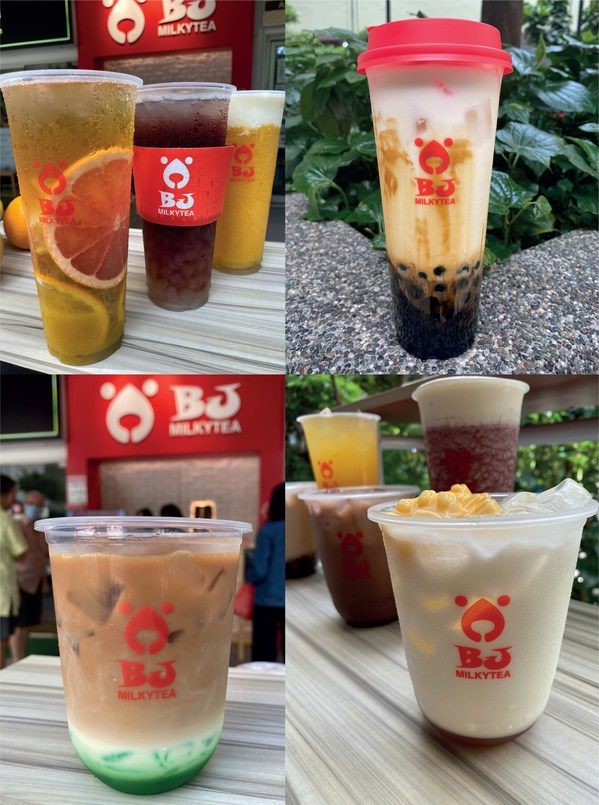 Beary Best BJ MILKYTEA Bubble Tea launches in Singapore