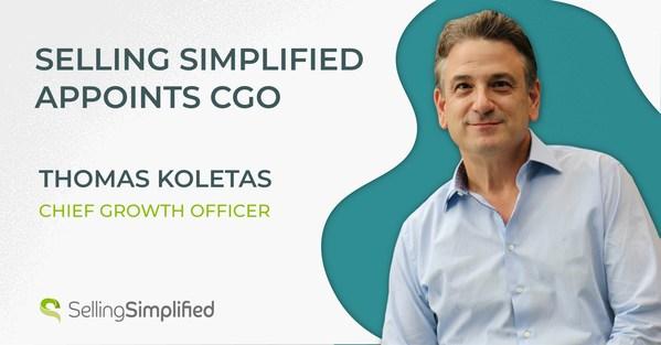 SSG, 토마스 콜리타스(Thomas Koletas)를 CGO로 임명