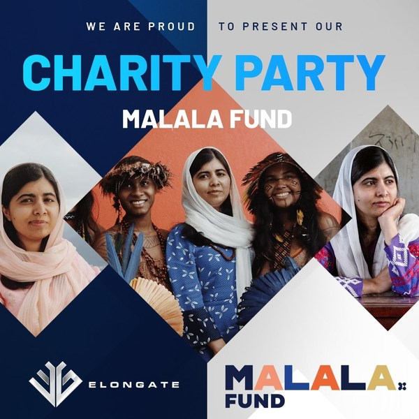 ELONGATE donates US$25,000 to the Malala Fund