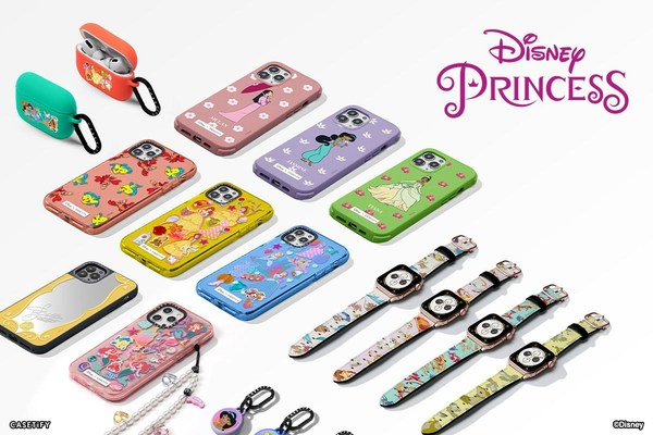 """Encouraging Disney fans to """"Be Your Own Princess,"""" the inspired tech capsule shines with unique CASETiFY accessories celebrating individuality and inclusivity."""