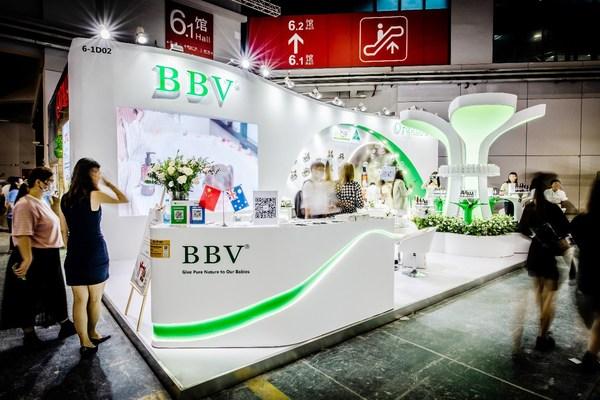 BBV/倍碧唯亮相第21届CBME 揭晓新装新布局