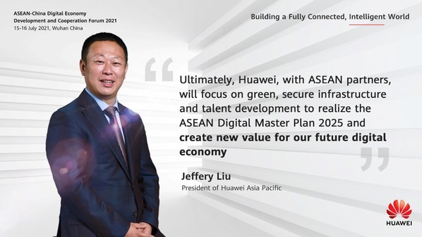 This morning Jeffery Liu, President of Huawei APAC, shared his vision for a green industrial revolution with carbon neutrality enabled by innovative technologies.