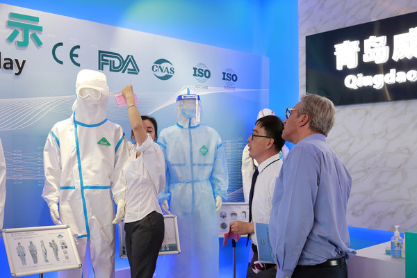 Within weeks of first COVID-19 outbreak, China's Qingdao Weida Biotechnology had switched all production capability over to PPE