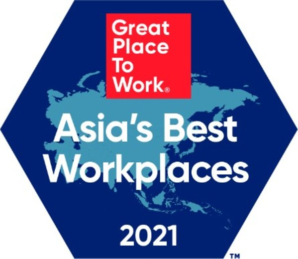Great Place to Work(R), 2021년 아시아 일하기 좋은 기업™ 발표