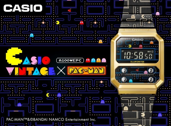 카시오, 재미있는 복고풍 스타일의 디지털시계 모델 출시