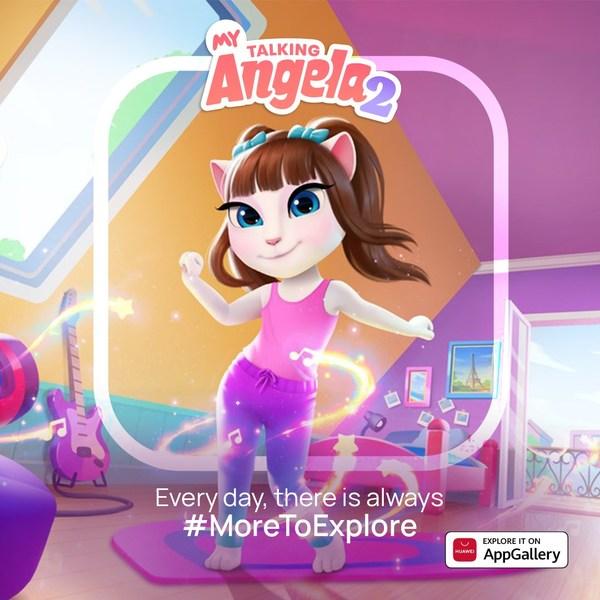 Tựa game My Talking Angela 2 vừa ra mắt và lập tức có sẵn trên chợ ứng dụng AppGallery