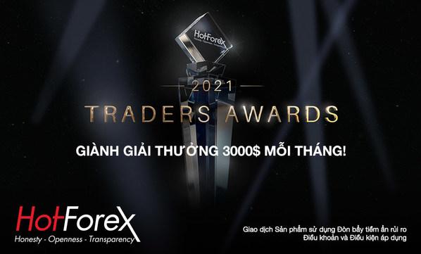 HotForex tăng tiền thưởng cho Giải thưởng giao dịch!