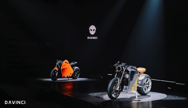 Davinci Introduces the DC100 high-performance, long range, rapid-charging electric motorcycle