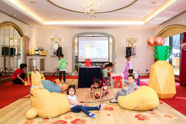 酒店内的儿童电影院及活动区