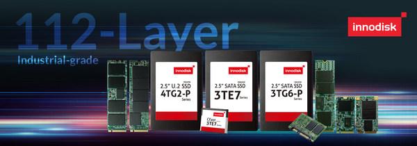 Innodiskが世界最高容量と完全な製品ラインを備えた産業用112-Layer 3D TLC SSDをリリース