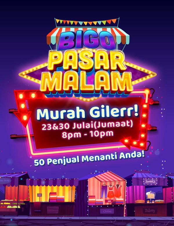 """Bigo Live Brings the Night Market Home with """"Bigo Pasar Malam"""""""