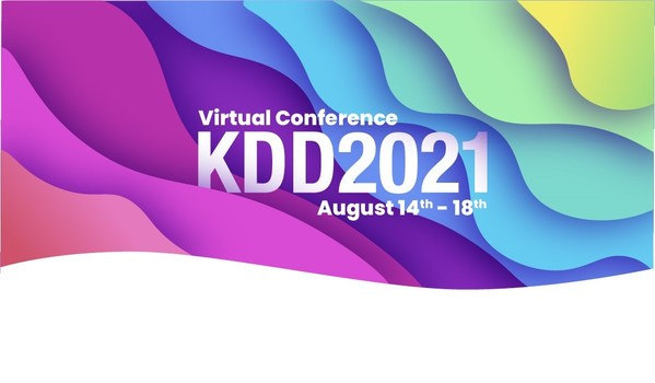 Based in Singapore, KDD 2021 will take place virtually Aug. 14-18, 2021.