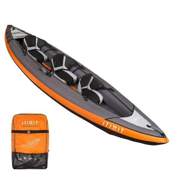 迪卡侬运动专业皮划艇,经确认可用于此次抢险救援