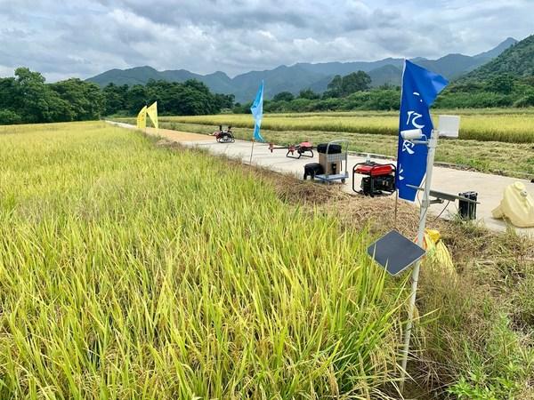 极飞智能农业设备结合运用在农田管理中