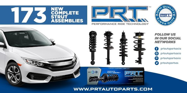 PRT ra mắt 173 cụm thanh chống hoàn chỉnh cho thị trường Châu Á - Thái Bình Dương