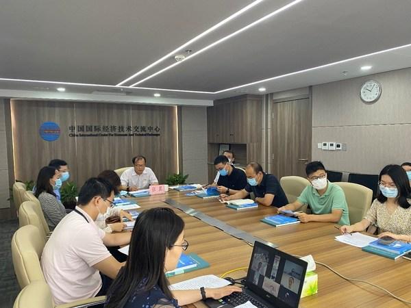 中国国际经济技术交流中心开展党史学习教育主题联学联建活动