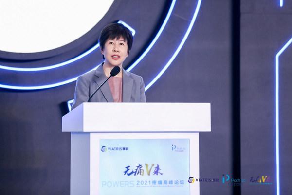 晖致大中华区首席医学官及临床研究负责人于巍致辞