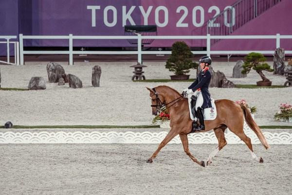 2020年东京奥运会 - 盛装舞步次日回顾