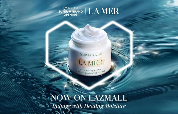 Luxury beauty skincare, La Mer is the latest addition on Lazada's LazMall Prestige