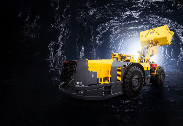 安百拓赢得加拿大艾芬豪矿业电池版设备大额订单