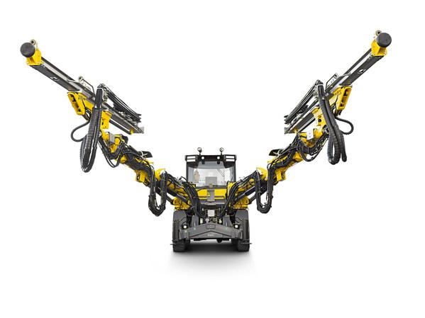 安百拓Boomer M2电池版掘进凿岩台车