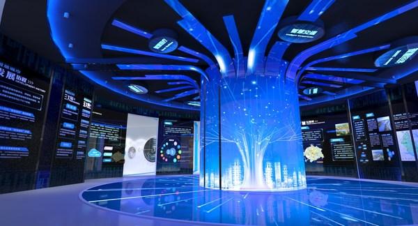 江夏智慧城市运营管理中心展示大厅