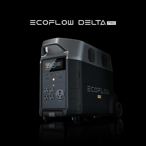 EcoFlow, 킥스타터에서 최고용량 휴대용 가정용 배터리 출시