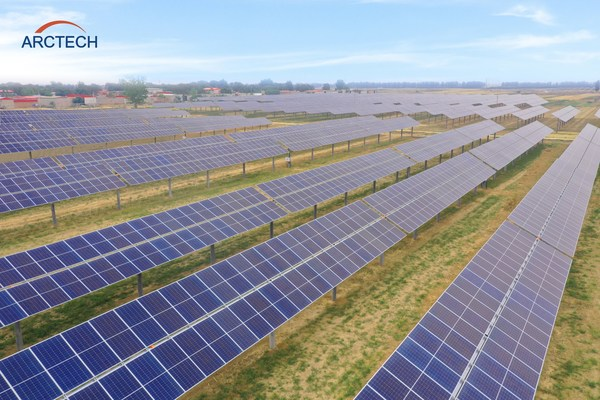 Arctech Delivers 575MW SkySmart II Trackers in North China