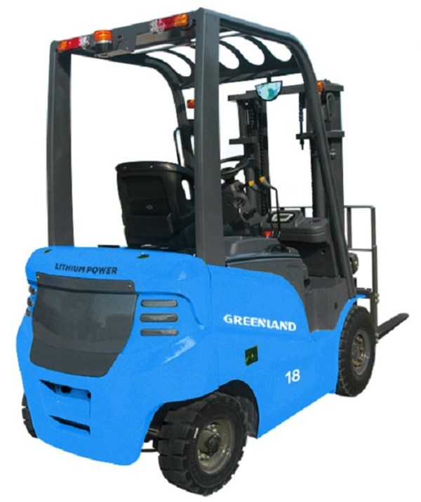 Greenland Technologies Launches New GEF-Series Electric Lithium Forklifts; Deliveries to Start in September