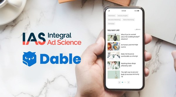 Dable, a leading global native ad platform, has partnered with Integral Ad Science, a global leader in digital media quality, to deliver additional brand safety capabilities for advertisers.
