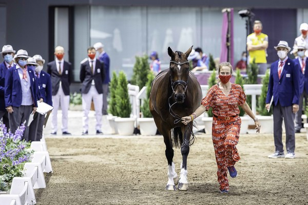 Tokyo 2020 Olympic Games - Eventing Horse Inspection