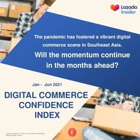 70% of Southeast Asia's Online Sellers Are Optimistic About Future Growth in First-of-its-kind Business Confidence Index for Digital Commerce