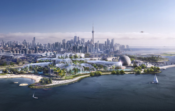 Future of Ontario Place Toronto to showcase new landmark entertainment and wellbeing destination by Therme Group