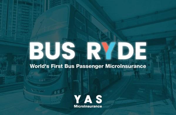 BUS RYDE -- 全球創新與公共交通智能卡連接的巴士乘客微保險