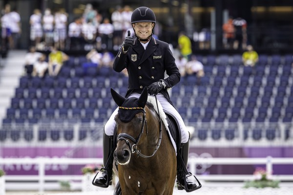 Tokyo 2020 Olympic Games - Equestrian Eventing Dressage Day 2