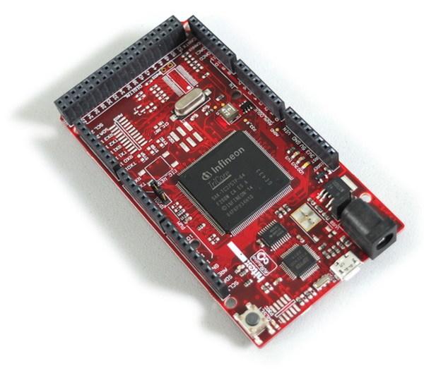 アールエスコンポーネンツがインフィニオンのTriCore(TM)コア搭載マイコンAURIX(TM)シリーズの開発キット群を発売